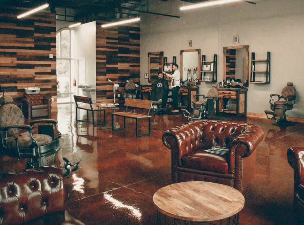 Home Mens Groom Room Barber Lounge